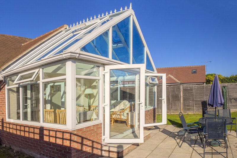 Glass Conservatory in Oxford Oxfordshire